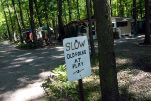 This is one of the friendliest camps I've ever been in, and it was filled mostly with retirees. I stopped by a few times to take showers, and always people were warm and helpful.