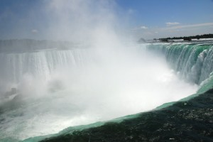 Niagara Falls, from the Canada side.