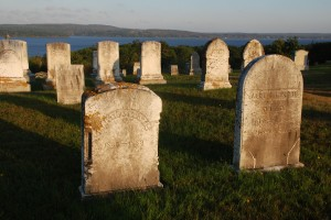 One of the very many, very old cemeteries along Maine's coast.