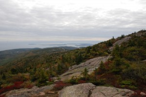 Cadillac Mountain, Acadia National Park.