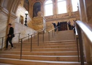 Public library. Boston.
