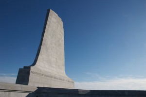The Wright brothers' monument. Kill Devil Hills, N.C.