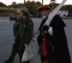 A hard day's work at the fort. St. Augustine, Fla.