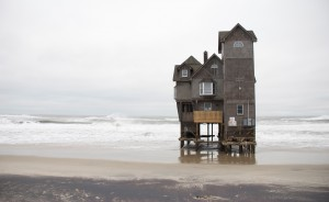 Little house on the sea. Rodanthe, N.C.