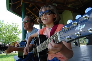 A family band in Carbondale, Colo. The Glenwood Springs Post Independent.
