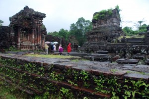These ruins at My Son (near Hoi An) were created by Javanese people centuries and centuries ago.