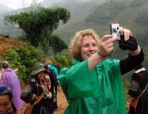 Steph, an Australian journalist I met in the hills around Sapa.